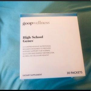 Goop Wellness High School Genes 30 Day Supply